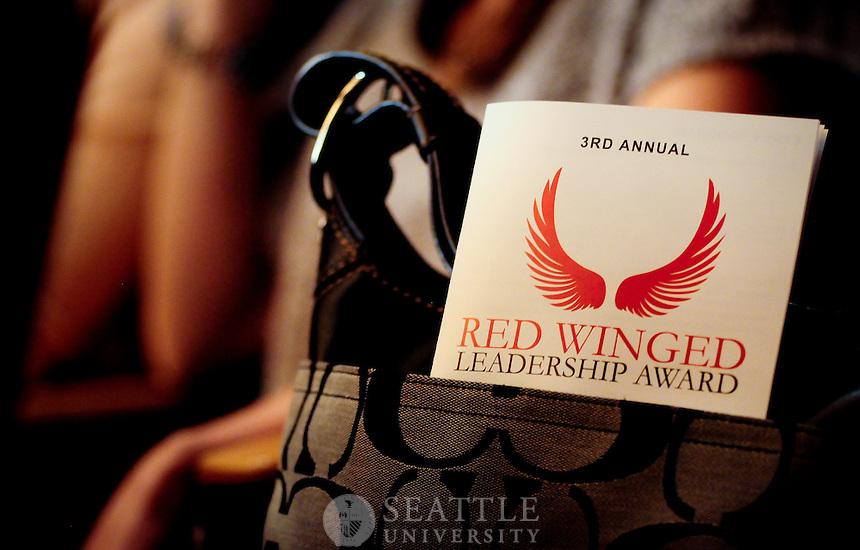 05102012- Red Winged Leadership Award 2012