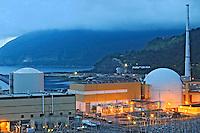 Usina nuclear de Angra dos Reis. Rio de Janeiro. 2008. Foto de Ricardo Azoury.