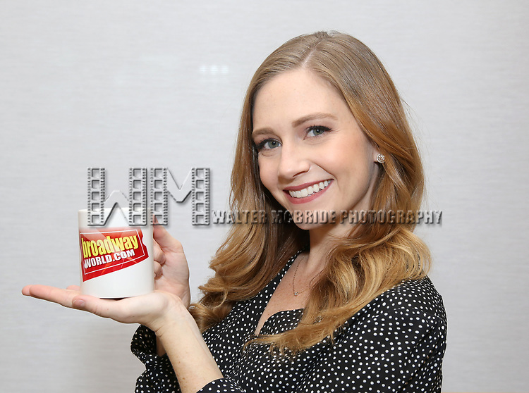 "attends the Meet the Cast of  ""Falsettos"" during the rehearsal media day at the New Ripley Grier on January 25, 2019 in New York City."