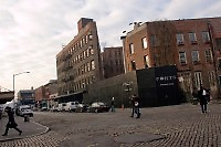 New York, NY - 6 Jan 08 - Cobblestone streets along Gansvoort Street in the Meatpacking District, which was once known as Gansevoort Market.