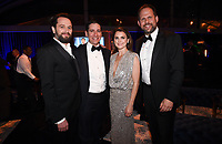 BEVERLY HILLS - JANUARY 6: Matthew Rhys, Eric Shrier (President Original Programming), Keri Russell and Nick Grad (President, Original Programming) attends the 2019 Fox Nominee Party for the 76th Annual Golden Globe Awards at the Fox Terrace on the Roof Deck of the Beverly Hilton on January 6, 2019, in Beverly Hills, California. (Photo by Frank Micelotta/Fox/PictureGroup)
