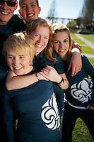 Scoutro?relsens nya scoutskjorta och profilkla?der. 2007-04-21. Foto: Magnus Fro?derberg