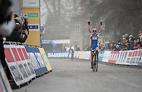 Katerina Nash (CZE/Luna) wins the UCI Cyclocross World Cup Namur/Belgium 2016 women's race