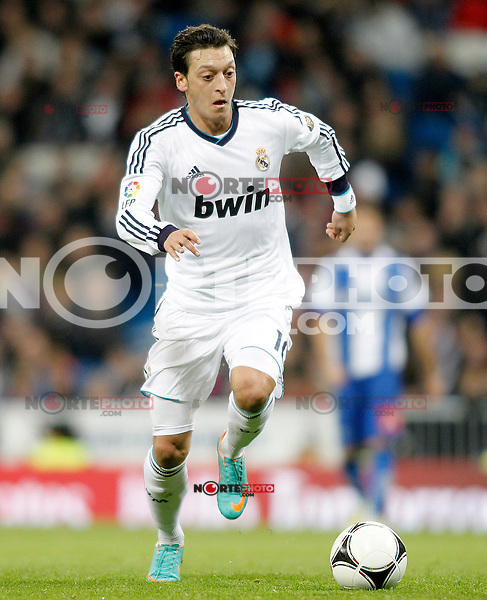 Real Madrid's Mesut Ozil during Spanish King's Cup match.November 27,2012. (ALTERPHOTOS/Acero) /NortePhotoMx