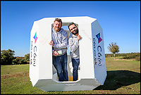 Camp in a cube - festival camping pods unveiled
