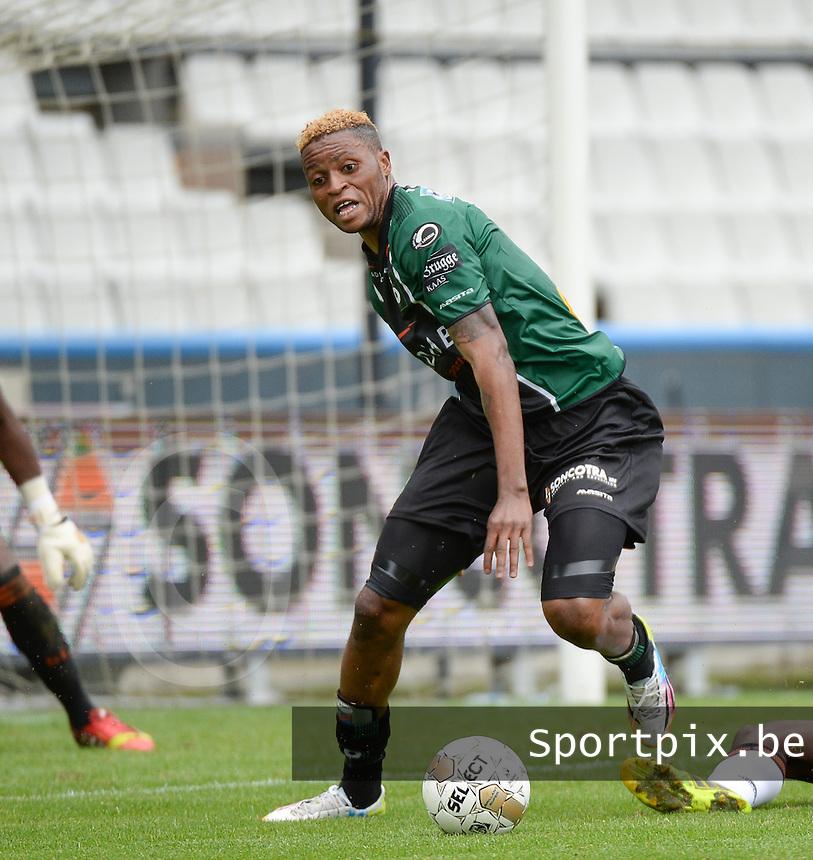 Cercle Brugge : Junior Kabananga <br /> foto VDB / BART VANDENBROUCKE