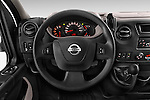 Car pictures of steering wheel view of a2015 Nissan NV 400 Business 4 Door Cargo Van Steering Wheel