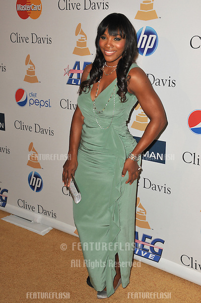 Serena Williams at the 2011 Clive Davis pre-Grammy party at the Beverly Hilton Hotel..February 12, 2011  Beverly Hills, CA.Picture: Paul Smith / Featureflash
