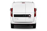 Straight rear view of 2016 Fiat Doblo Pack 4 Door Cargo Van stock images