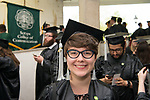 Kaitlin Owens at undergraduate commencement. Photo by Ben Siegel