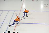 SPEEDSKATING: CALGARY: Olympic Oval, 03-12-2017, ISU World Cup, Kai Verbij - Hein Otterspeer, ©photo Martin de Jong