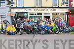 David Flynn Memororial Biker Run:  Bikers from all over Kerry & West Limerick pictured prior to there departure at the Kingdom Bar in Listowel on Saturday morning. The proceeds from the run are in aid of the Bee for Battens - Saoirse Foundation.