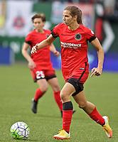 Portland, Oregon - Wednesday June 22, 2016: Portland Thorns FC midfielder Tobin Heath (17) during a regular season National Women's Soccer League (NWSL) match at Providence Park.