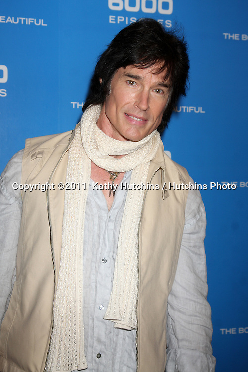 LOS ANGELES - FEB 7:  Ronn Moss at the 6000th Show Celebration at The Bold & The Beautiful at CBS Television City on February 7, 2011 in Los Angeles, CA