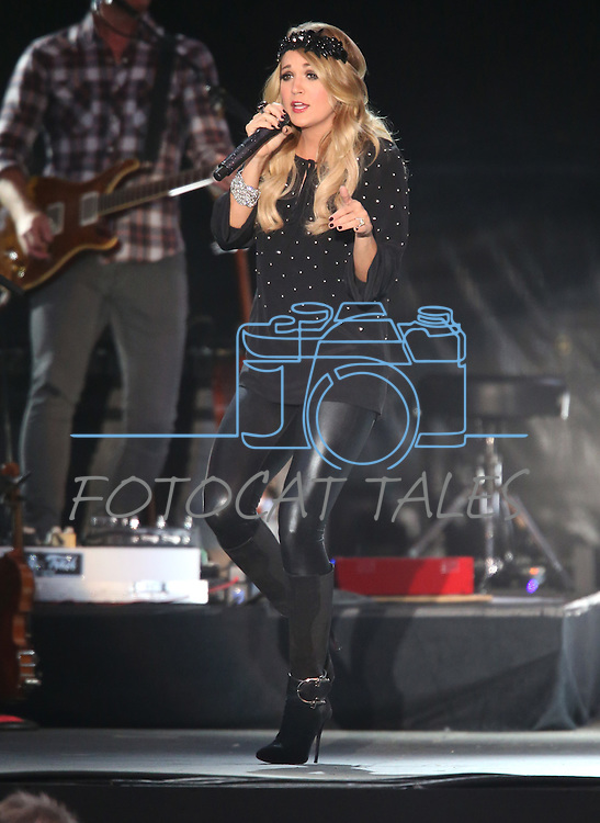 Carrie Underwood performs at the Harvey's Outdoor Ampitheater in Stateline, Nev., on Friday, July 18. 2014.<br /> Photo by Cathleen Allison/Nevada Photo Source