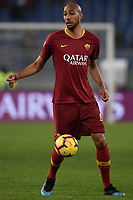 Steven Nzonzi of AS Roma in action during the Serie A 2018/2019 football match between AS Roma and FC Bologna at stadio Olimpico, Roma, February 18, 2019 <br />  Foto Andrea Staccioli / Insidefoto