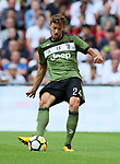 Juventus Daniele Rugani in action during the pre season match at Wembley Stadium, London. Picture date 5th August 2017. Picture credit should read: David Klein/Sportimage