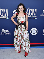 LAS VEGAS, CA - APRIL 07: Chevel Shepherd attends the 54th Academy Of Country Music Awards at MGM Grand Hotel &amp; Casino on April 07, 2019 in Las Vegas, Nevada.<br /> CAP/ROT/TM<br /> &copy;TM/ROT/Capital Pictures