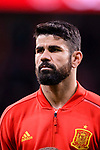 Diego Costa of Spain getting into the field during the International Friendly 2018 match between Spain and Argentina at Wanda Metropolitano Stadium on 27 March 2018 in Madrid, Spain. Photo by Diego Souto / Power Sport Images