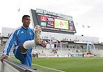19 May 2007: Kansas City's Jose Burciaga, Jr. does some stretching exercises before the game. The Colorado Rapids and the Kansas City Wizards played to a 1-1 tie at Dick's Sporting Goods Park in Commerce City, Colorado in a Major League Soccer 2007 regular season game.