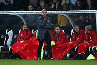Liverpool manager Vicky Jepson during Arsenal Women vs Liverpool Women, Barclays FA Women's Super League Football at Meadow Park on 24th November 2019