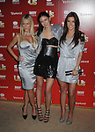 WEST HOLLYWOOD, CA. - November 18: Julie Benz, Caroline D'Amore and Audrina Patridge arrive at the US Weekly's Hot Hollywood 2009 at Voyeur on November 18, 2009 in West Hollywood, California.