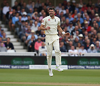 England's James Anderson celebrates taking the wicket of South Africa's Dean Elgar<br /> <br /> Photographer Stephen White/CameraSport<br /> <br /> Investec Test Series 2017 - Second Test - England v South Africa - Day 1 - Friday 14th July 2017 - Trent Bridge - Nottingham<br /> <br /> World Copyright &copy; 2017 CameraSport. All rights reserved. 43 Linden Ave. Countesthorpe. Leicester. England. LE8 5PG - Tel: +44 (0) 116 277 4147 - admin@camerasport.com - www.camerasport.comEngland's James Anderson celebrates taking the wicket of South Africa's Dean Elgar<br /> <br /> Photographer Stephen White/CameraSport<br /> <br /> Investec Test Series 2017 - Second Test - England v South Africa - Day 1 - Friday 14th July 2017 - Trent Bridge - Nottingham<br /> <br /> World Copyright &copy; 2017 CameraSport. All rights reserved. 43 Linden Ave. Countesthorpe. Leicester. England. LE8 5PG - Tel: +44 (0) 116 277 4147 - admin@camerasport.com - www.camerasport.com