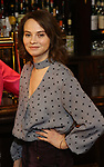 """Carolyn Braver attends the Broadway cast of """"The Iceman Cometh""""  Press Photocall at Delmonico's on April 11, 2018 in New York City."""