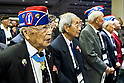 Nisei World War II Veterans from the  442nd Regimental Combat Team attend the WWII Nisei Veterans Program National Veterans Network tribute to the 100th Infantry Battalion, 442nd Regimental Combat Team and Military Intelligence Service Nov. 1, 2011 in Washington, D.C. (U.S. Army photo by Staff Sgt. Teddy Wade/AFLO) [0006]