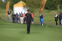 Lee Slattery (ENG) on the 17th fairway during Round 4 of the D+D Real Czech Masters at the Albatross Golf Resort, Prague, Czech Rep. 03/09/2017<br /> Picture: Golffile   Thos Caffrey<br /> <br /> <br /> All photo usage must carry mandatory copyright credit     (&copy; Golffile   Thos Caffrey)