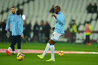 Angelo Ogbonna warms up during West Ham United vs Fulham, Premier League Football at The London Stadium on 22nd February 2019