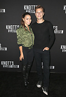 BUENA PARK, CA - SEPTEMBER 29:  Jessica Parker Kennedy and Ronen Rubinstein at Knott's Scary Farm & Instagram's Celebrity Night at Knott's Berry Farm in Buena Park, California on September 29, 2017. Credit: Faye Sadou/MediaPunch