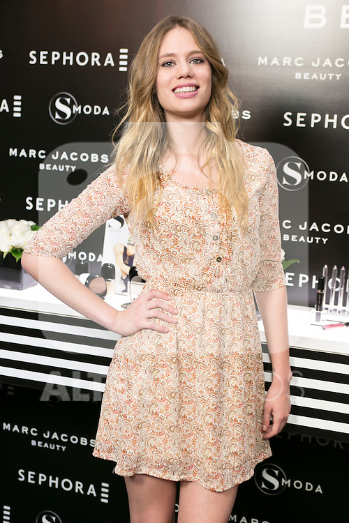 Arancha Marti attends the SMODA Magazine and SEPHORA new Marc Jacobs Make up collection presentation at Sephora Shop in Madrid, Spain. October 6, 2014. (ALTERPHOTOS/Carlos Dafonte)