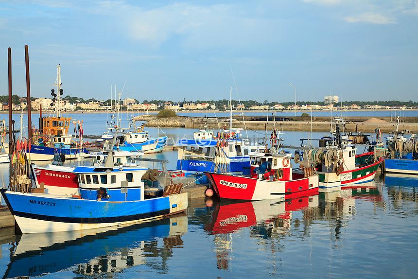 France, Charente-Maritime (17), Royan, port de pêche // France, Charente Maritime, fishing port