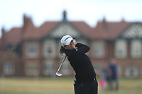 Mo Martin (USA) on the 2nd fairway during Round 3 of the Ricoh Women's British Open at Royal Lytham &amp; St. Annes on Saturday 4th August 2018.<br /> Picture:  Thos Caffrey / Golffile<br /> <br /> All photo usage must carry mandatory copyright credit (&copy; Golffile | Thos Caffrey)