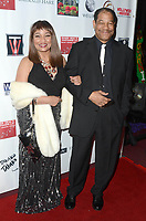 LOS ANGELES - FEB 9:  Ella Joyce, Dan Martin at the 5th Annual Roger Neal & Maryanne Lai Oscar Viewing Dinner at the Hollywood Museum on February 9, 2020 in Los Angeles, CA