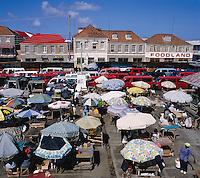 Karibik, Kleine Antillen, Grenada: Markt | Caribbean, Lesser Antilles, Grenada, St. Georges: Market Scene