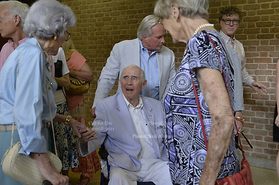 """Dean of Mississippi journalism Bill Minor is the star of a new documentary, by Ellen Ann Fintress. The film is based on Minor's book """"Eyes on Mississippi"""" a collection of 50 years of writing about Mississippi politics and civil rights. The new documentary was screened for the first time June 14, 2015. Minor celebrated his 93 birthday just days ago and still writes a weekly syndicated column. Photo © Suzi Altman"""