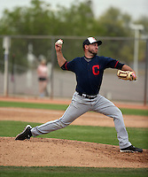 Cole Sulser - Cleveland Indians 2016 spring training (Bill Mitchell)