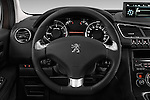 Steering wheel view of a 2014 Peugeot 3008 5 Door SUV 2WD