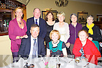 Having a laugh at the MS, the Listowel Arms Hotel on Friday Night were Bryan Quille, Cai?t and Marie Broderick.  Back l-r. Marie Smile, Con McCarthy, U?na Barry, Anne McCarthy, Helen Houirigan and veronica Fennell..