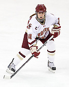 Meagan Mangene (BC - 24) - The Boston College Eagles defeated the Boston University Terriers 2-1 in the opening round of the Beanpot on Tuesday, February 8, 2011, at Conte Forum in Chestnut Hill, Massachusetts.