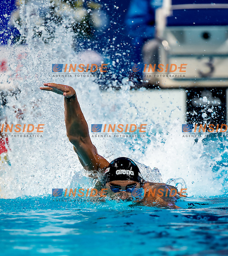 MAGNINI Filippo ITA 4x100 freestyle mixed relay<br /> Swimming Nuoto Kazan Arena<br /> Day15 08/08/2015  FINALS<br /> XVI FINA World Championships Aquatics <br /> Kazan Tatarstan RUS July 24 - Aug. 9 2015 <br /> Photo G.Scala/Deepbluemedia/Insidefoto