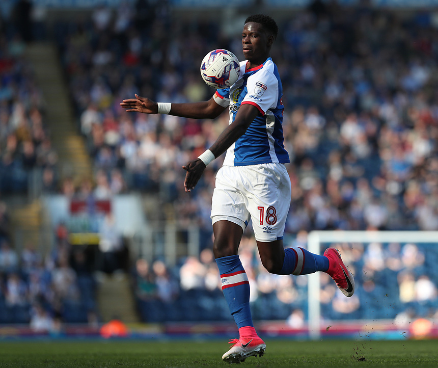 Blackburn Rovers' Lucas Joao in action during todays match \<br /> Photographer Rachel Holborn/CameraSport<br /> <br /> The EFL Sky Bet Championship - Blackburn Rovers v Barnsley - Saturday 8th April 2017 - Ewood Park - Blackburn<br /> <br /> World Copyright &copy; 2017 CameraSport. All rights reserved. 43 Linden Ave. Countesthorpe. Leicester. England. LE8 5PG - Tel: +44 (0) 116 277 4147 - admin@camerasport.com - www.camerasport.com