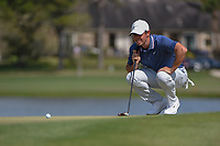 Rory McIlroy (NIR) lines up his putt on 6 during round 4 of the Arnold Palmer Invitational at Bay Hill Golf Club, Bay Hill, Florida. 3/10/2019.<br /> Picture: Golffile | Ken Murray<br /> <br /> <br /> All photo usage must carry mandatory copyright credit (© Golffile | Ken Murray)