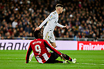 Inaki Williams of Athletic Club during La Liga match between Real Madrid and Athletic Club de Bilbao at Santiago Bernabeu Stadium in Madrid, Spain. December 22, 2019. (ALTERPHOTOS/A. Perez Meca)