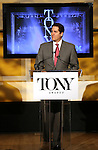 Nick Scandalios (Chairman The Broadway League)  announces the 2013 Tony Award Nominations at The New York Public Library for Performing Arts in New York on 4/30/2013...