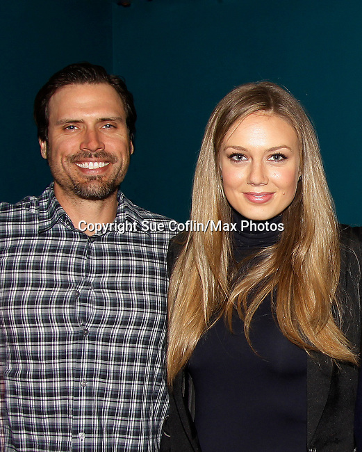 The Young and The Restless - Genoa City Live celebrating over 40 years with Christian LeBlanc, Joshua Morrow, Melissa Ordway, Eric Braeden, Robert Adamson and Sean Carrigan on February 20, 2016 at the Wellmont Theatre, Montclair, NJ. on stage with questions and answers hosted by Christian and Sean followed with autographs and photos in the theater.  (Photo by Sue Coflin/Max Photos)