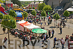Listowel Army, Agri & Vintage Day : Overview of the Square.