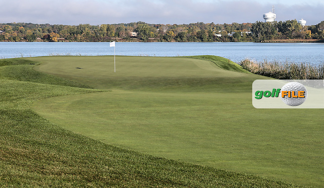 View of the 7th during the Saturday Morning Foursomes, at the 41st Ryder Cup 2016, at Hazeltine National Golf Club, Minnesota, USA.  01View of the 10th2016. Picture: David Lloyd | Golffile.
